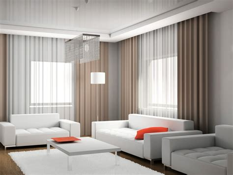 Modern Window Curtains For Living Room by Modern Window Treatments Casual Cottage