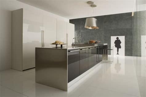 cuisine blanche et inox cuisine blanche 10 modèles de cuisines lumineuses et