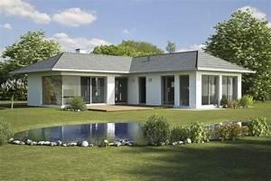 Fertighaus Bauhausstil Preise : bungalow 2 id massivhaus das fertighaus mit ziegelsteinen ~ Lizthompson.info Haus und Dekorationen