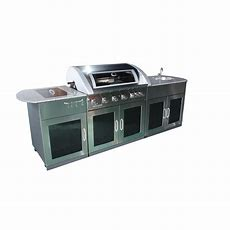 Matador 6 Burner Entertainer Granite Top Outdoor Kitchen