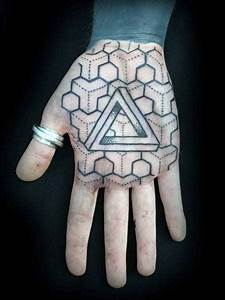 Center For Pattern Design 40 Geometric Hand Tattoos For Men Pattern Design Ideas