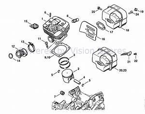 Rewind Stihl 025 Chainsaw Parts Diagram