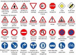 Code De La Route Signalisation : panneaux de signalisation routiere ~ Maxctalentgroup.com Avis de Voitures