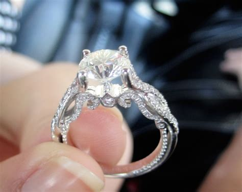 the most engagement ring i seen belonging to my newly engaged