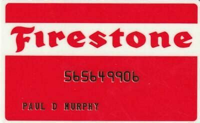 Take on any forecast with the firestone weathergrip. Old School Firestone Credit Card. Mint condition. | eBay