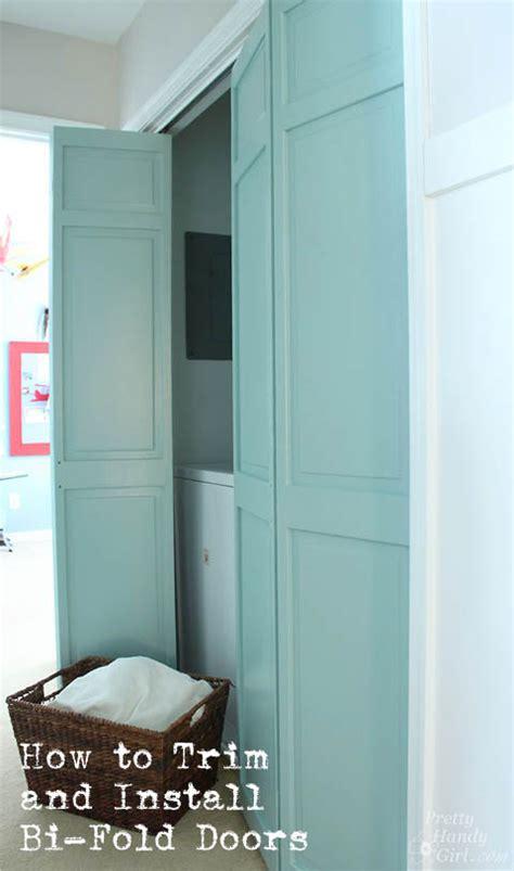 Replace Folding Closet Doors by How To Trim Install Closet Doors Dremel Ultra Saw