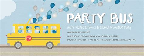 Free Back to School Party Invitations Evite