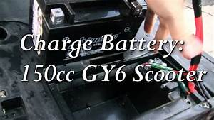 Right Way To Charge Battery--150cc Gy6 Chinese Scooter Tao Tao Lancer