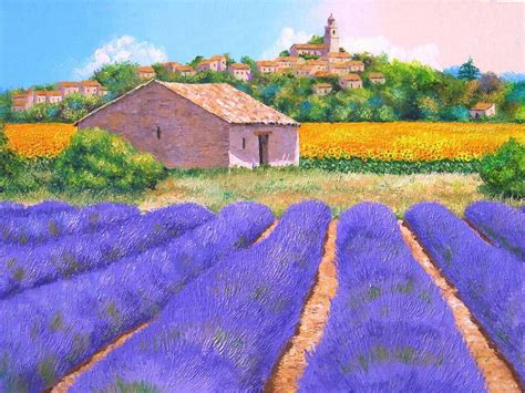 jean marc janiaczyk dreamy provence widescreen wallpaper