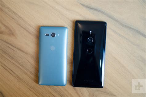 sony xperia xz2 and xz2 compact on review digital