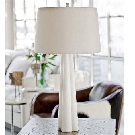 regina andrew alabaster quatrefoil lamp large regina