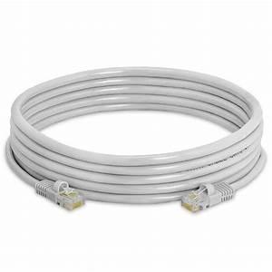 Gray Cat5e Rj45 Molded Strain Relief Ethernet Network