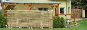 Bambus Sichtschutz Sichtschutz Terrasse Sichtschutz