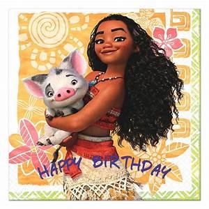 Moana Happy Birthday Cards
