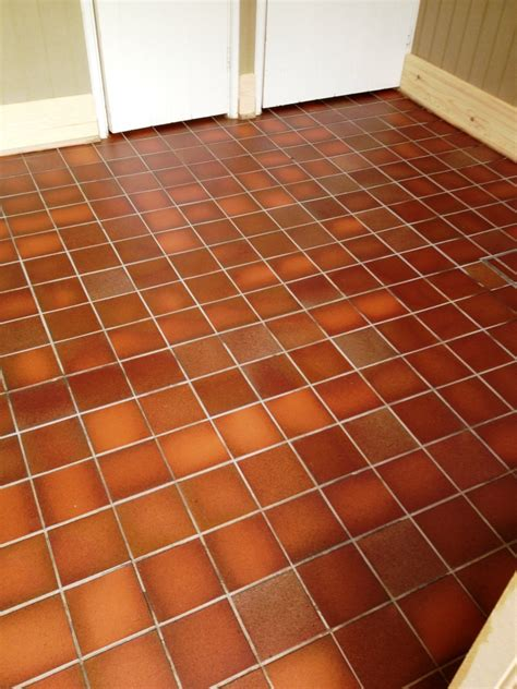 quarry tile floor restoring office quarry tiles tile doctor cleaning