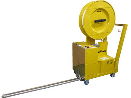 polyester pallet strapping machine strapack aq plt