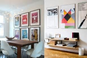 the of decorating with posters