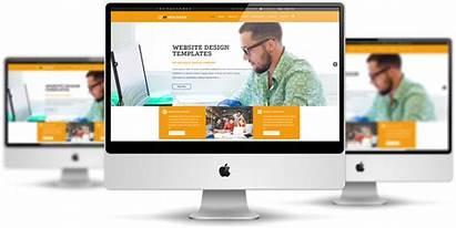 Web Template Responsive Website Joomla Templates Mockup