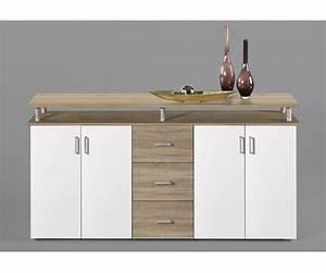 Sideboard 180 Breit : highboard kommode sideboard eiche s gerau dekor wei lift ca 180 cm breit eur 139 00 ~ Watch28wear.com Haus und Dekorationen