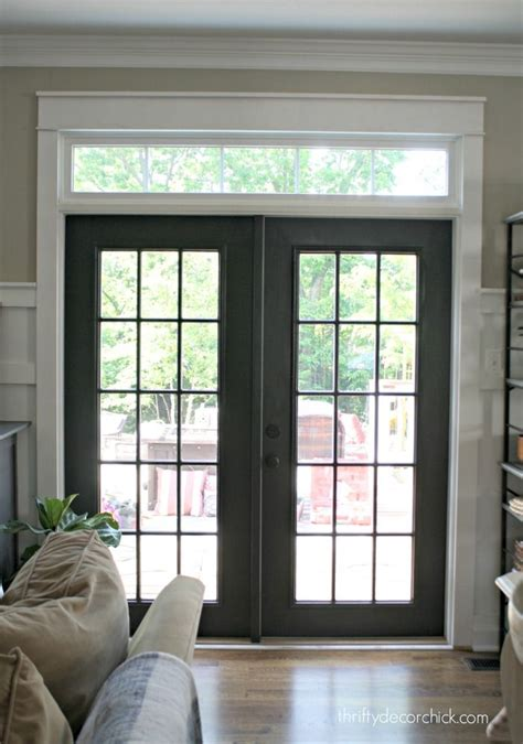 black patio doors black doors never would thought of it home