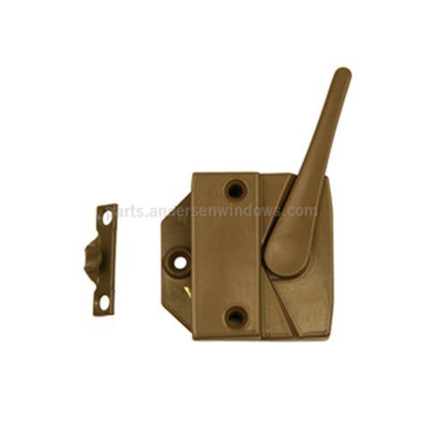 stone  hand lock  keeper  andersen windows andersen  series casement locks