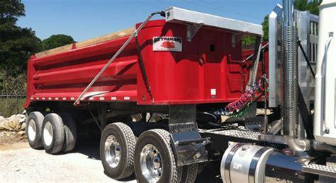 quarter frame ox  dump trailers