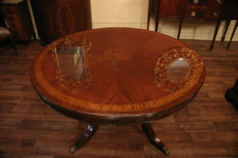 54 dining table with leaf 54 quot to 90 quot oval mahogany pedestal dining table with 8992