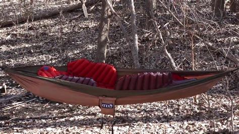 klymit insulated hammock  review youtube