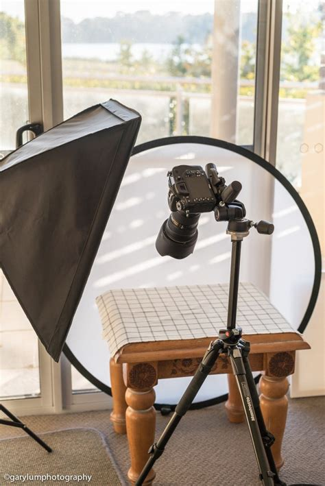 food photography lighting setup