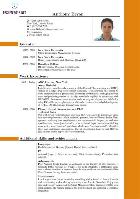 resume format     choose