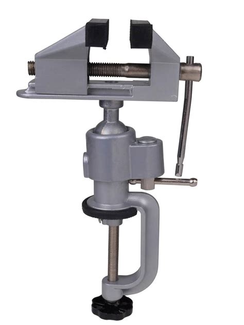 table bench vise  work bench clamp swivel rotated vice
