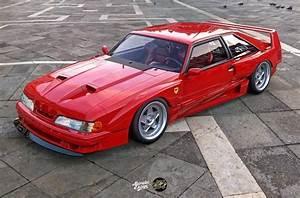 Ford Mustang Foxbody: un progetto digitale ispirato alla Ferrari F40 - ClubAlfa.it
