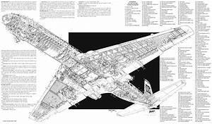 De Havilland Dh 106 Comet 4 Cutaway By Arthur Bowbeer