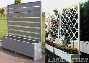 Jardinière Brise Vue : jardiniere avec claustra 535 380 pixels ~ Premium-room.com Idées de Décoration