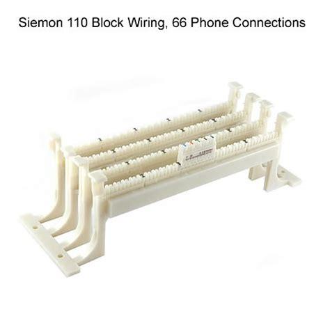 66 connecting blocks cableorganizer