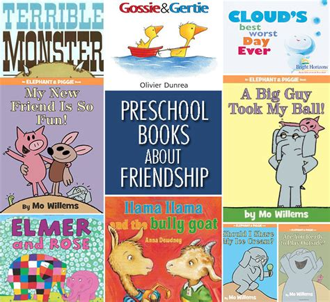 preschool children s books about friendship bright horizons 405 | Preschool Books Friendship