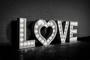 marquee letter 3 foot rent letters With love marquee letters for rent