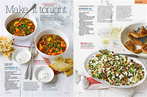 magazines cuisine five recipes in food magazine ren behan