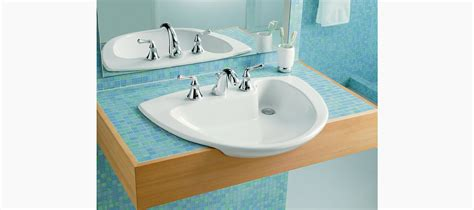 Kohler| Invitation Drop-in Sink With-inch Centers