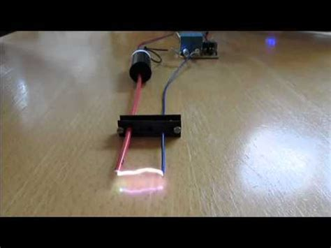 how to make a stun gun high voltage circuit with xgen pulse trigger transformer