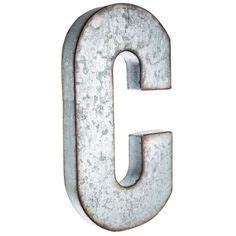 put a vintage inspired spin on monogram letters using this With hollow metal letters