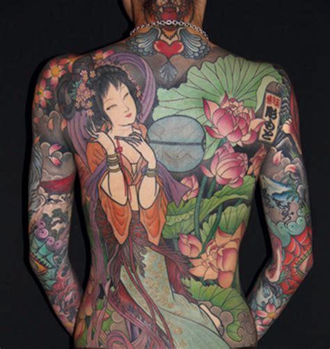 idees irezumi ou le tatouage japonais traditionnel
