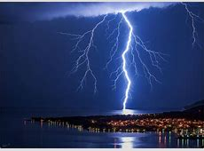 Spectacular lightning over the Adriatic, Ligurian and