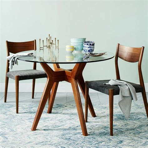 glass dining room tables  add sophistication
