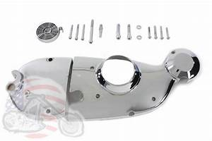 Chrome Cam And Sprocket Cover Kit Xlch Kick Start Ironhead