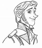 Prince Coloring Hans Horse Sketch Ride Sun sketch template