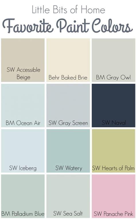 favorite paint colors