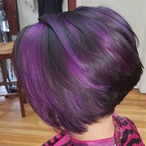 High Shine Black and Purple | Hair Colors Ideas ...