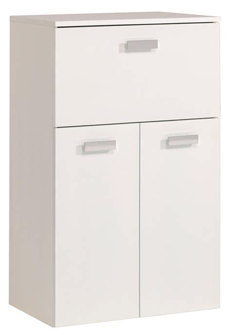 meuble cuisine blanc laqué meuble bas 1 tiroir 2 portes studio 2 laque blanc