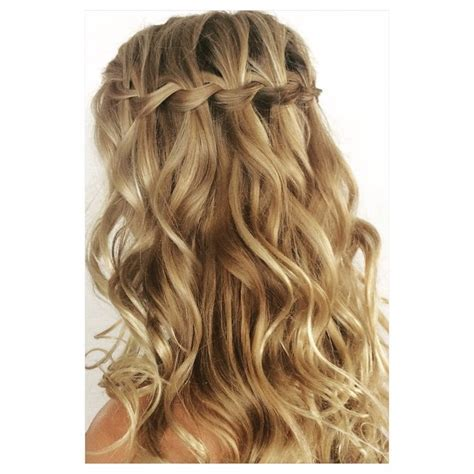 Nothing says romance like a well done waterfall braid with